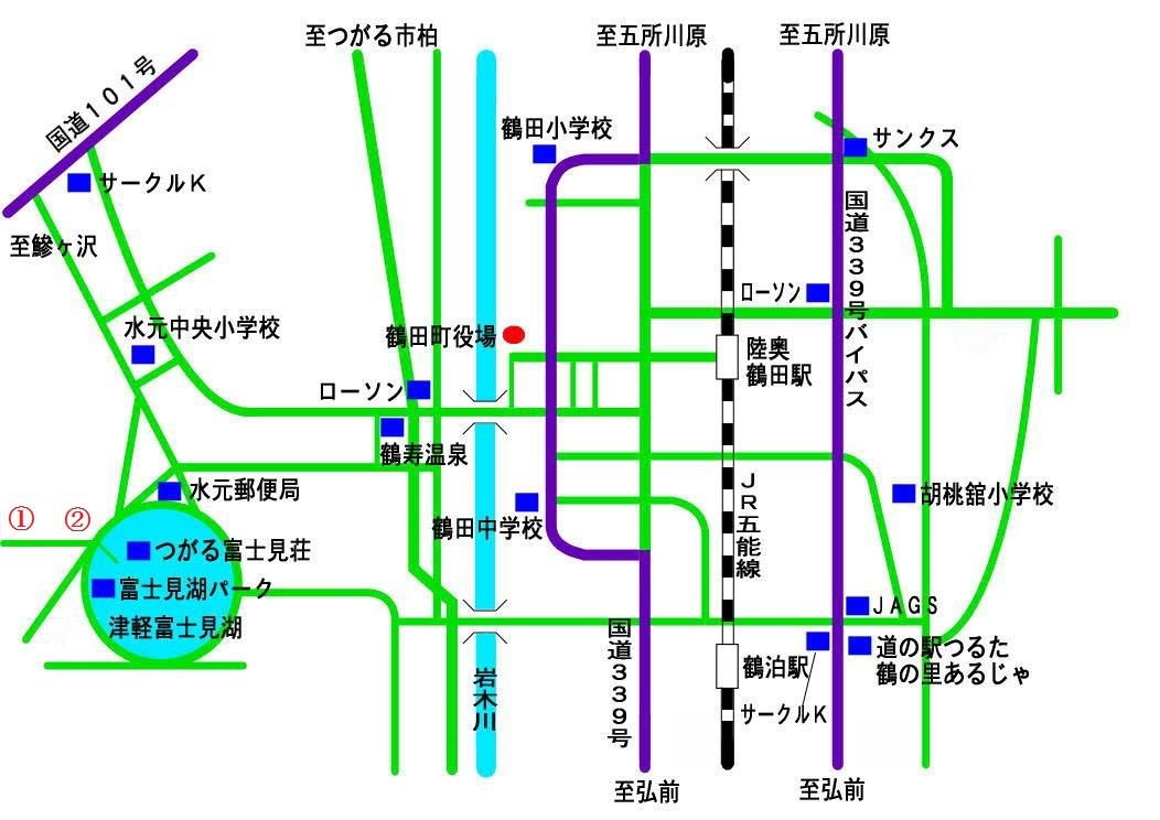 りんご案内図